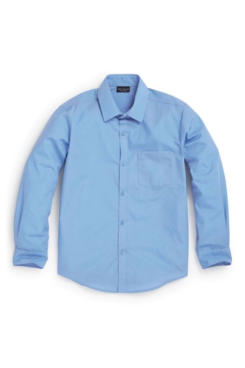 Next Long Sleeve Easy To Iron Shirts Two Pack (3-16yrs)