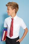 Next White Short Sleeve Oxford Shirt (3-16yrs)