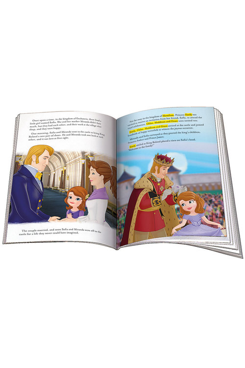 Personalised Adventure Book Disney Sofia the First