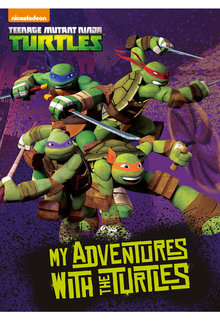 Personalised Adventure Book Teenage Ninja Turtles