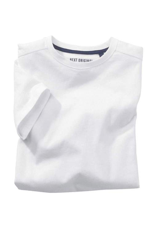 Next White T-Shirts Two Pack (3-16yrs)