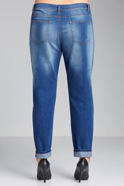 Plus Size - Sara Boyfriend Jeans
