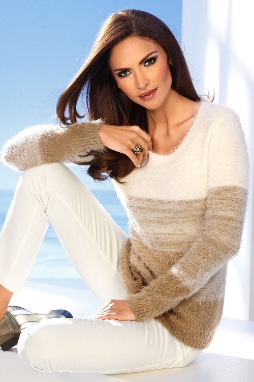 Heine Feather Knit Sweater