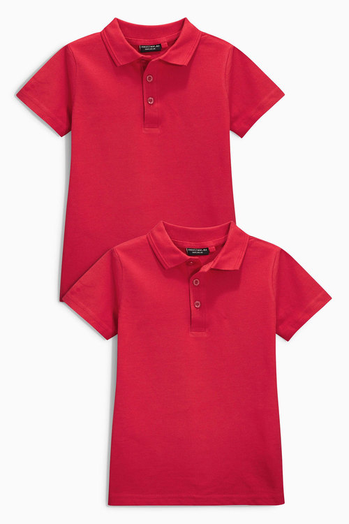 Next Polos Two Pack (3-16yrs)