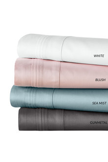 800 Thread Count Sateen 100% Cotton Flat Sheet