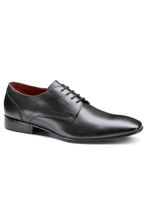 Next Black Plain Derby Lace-Up