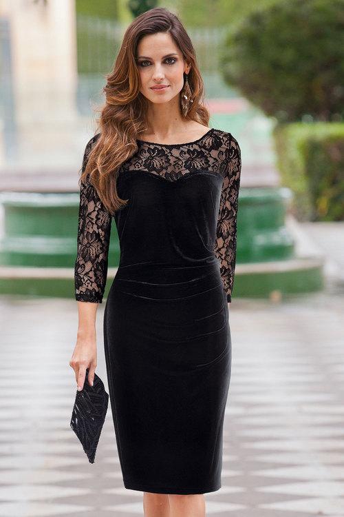 Together Velour Dress