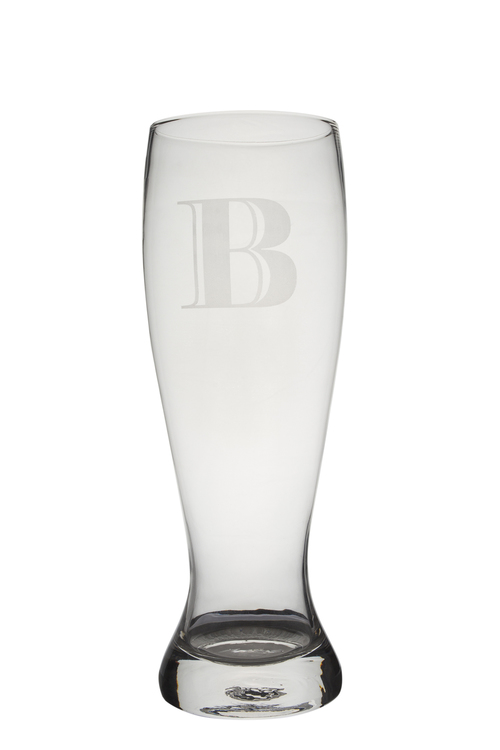 Personalised Giant Beer Glass - Monogram