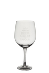 Personalised Giant Wine Glass - Keep Calm