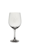 Personalised Giant Wine Glass - Monogram