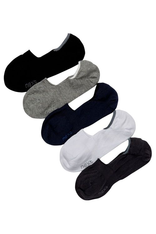 Next Mixed Invisible Socks Five Pack