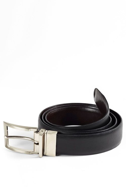 Next Black And Brown Reversible Belt