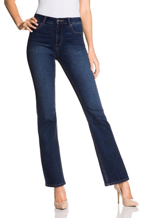 Capture Bootleg Jeans