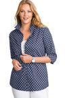 Plus Size - Sara Poplin Shirt