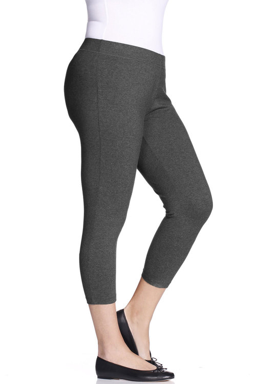 Plus Size - Sara Crop Leggings