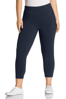 Plus Size - Sara Crop Leggings - 126864