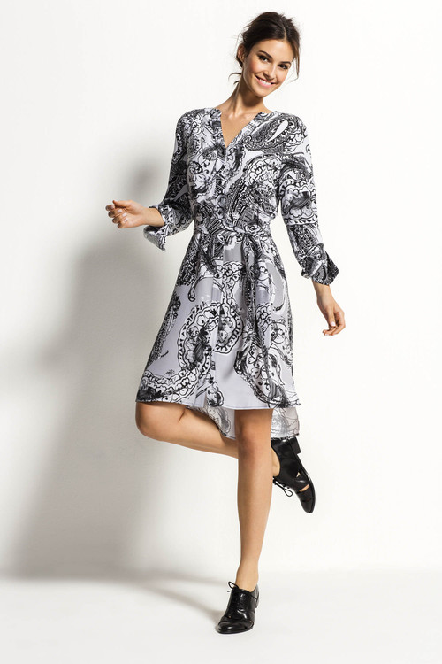 Grace Hill Silk Shirt Dress