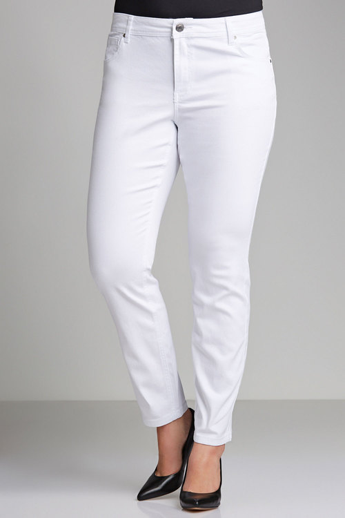 Plus Size - Sara Straight Leg Jeans