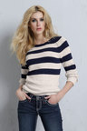 Urban Striped Pullover