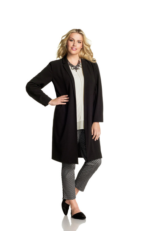 Plus Size - Emerge Woman Duster Coat