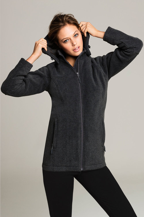 Isobar Hooded Windproof Fleece