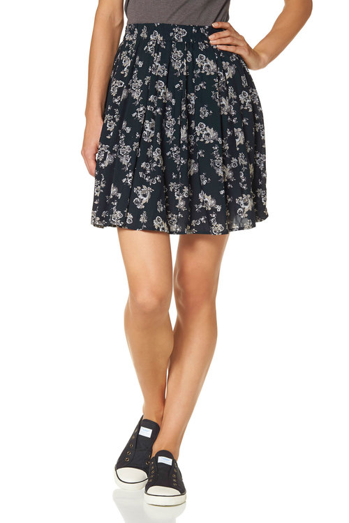 Urban Printed Casual Skirt