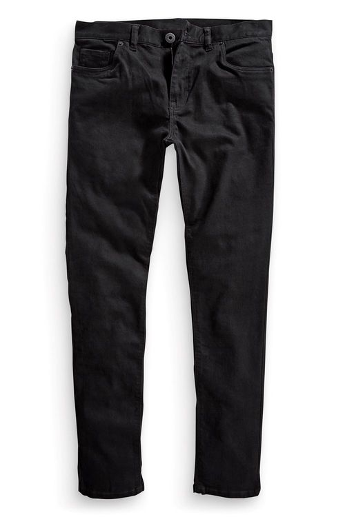 Next Solid Black Stretch Slim Fit Jean