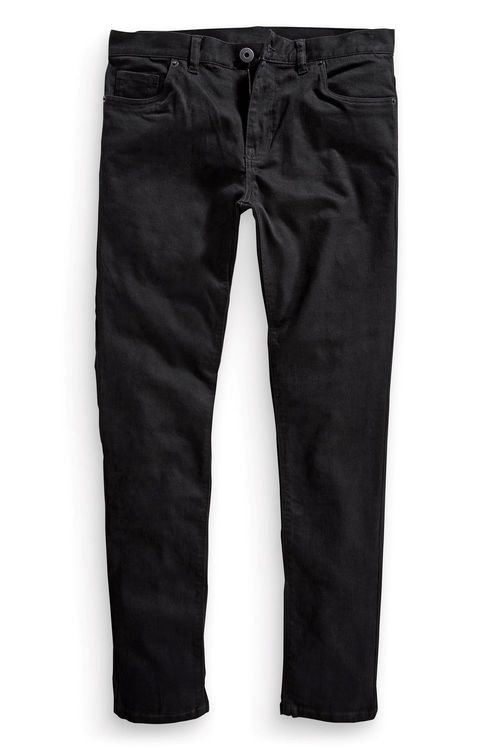 Next Solid Black Stretch Skinny Jean