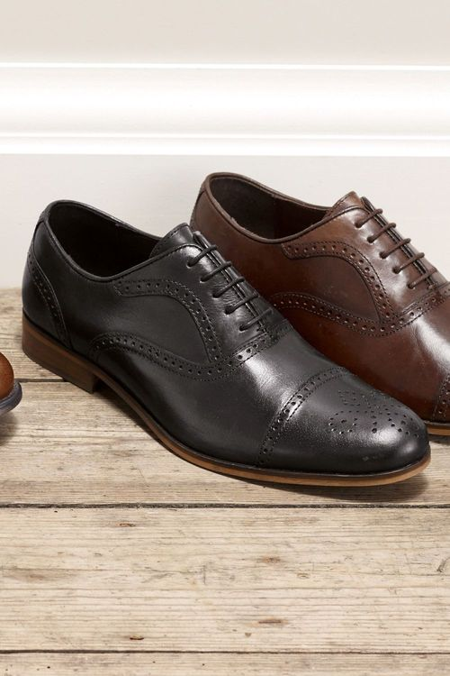 Next Toe Cap Brogue Lace-Up (Older Boys)