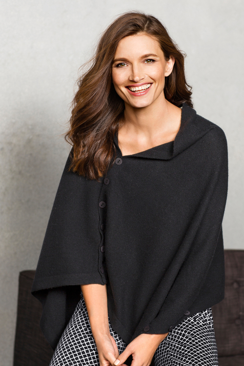 Capture Lambswool Poncho