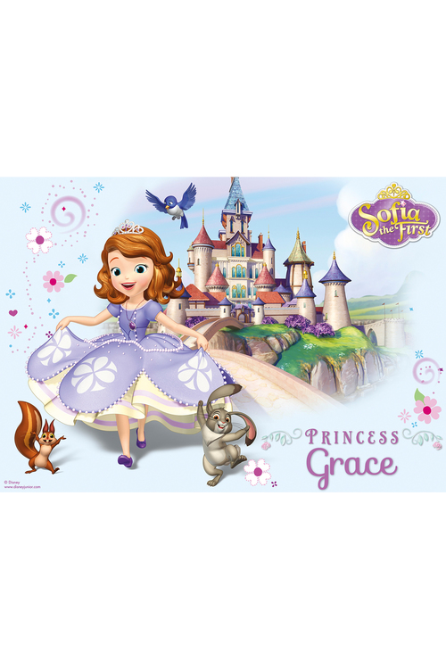 Personalised Disney Sofia the First Placemat