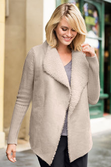 Capture Sherpa Cardigan