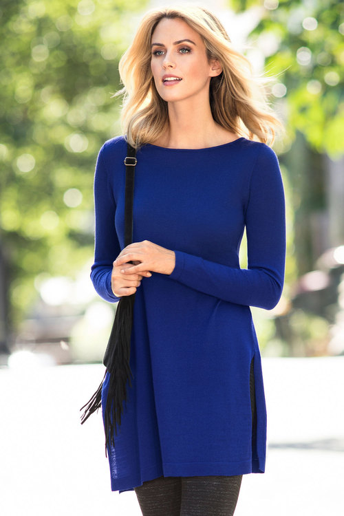 Capture Merino Split Hem Tunic