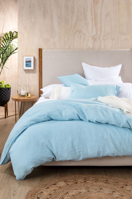Hampton Linen Duvet Cover Set Online Shop Ezibuy
