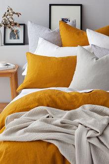 Hampton Linen Duvet Cover Set - 132207