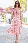 Together Crinkled Lace Dress