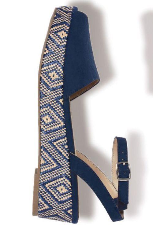 Next Ankle Strap Flatform Wedges
