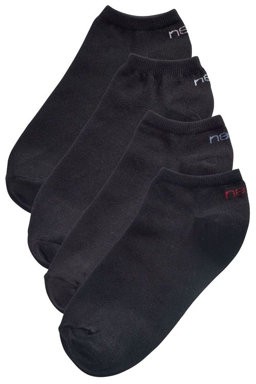 Next Four Pack Modal Mix Trainer Socks