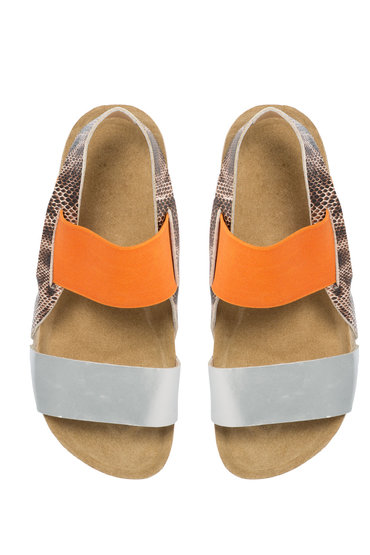 Plus Size - Wide Footbed Sandal
