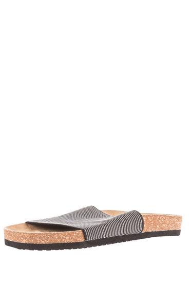 Plus Size - Wide Footbed Slides