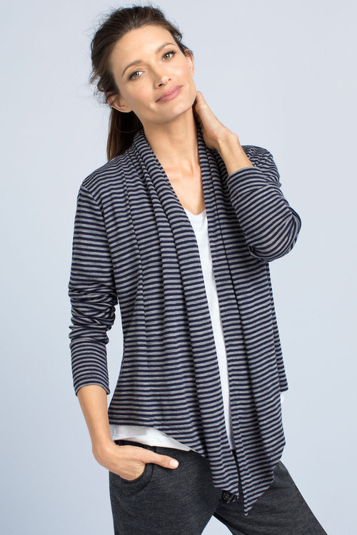Capture Merino Ballet Waterfall Cardigan