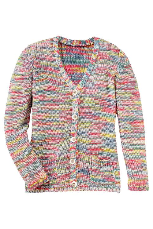 Urban Multi Yarn Cardigan