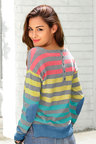 Urban Stripe Detail Pullover
