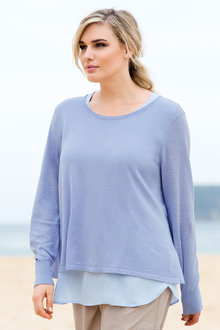Plus Size - Sara The Weekender Sweater