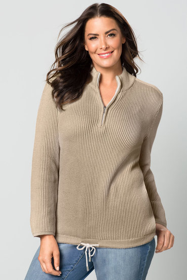 Sara 1/4 Zip Sweater