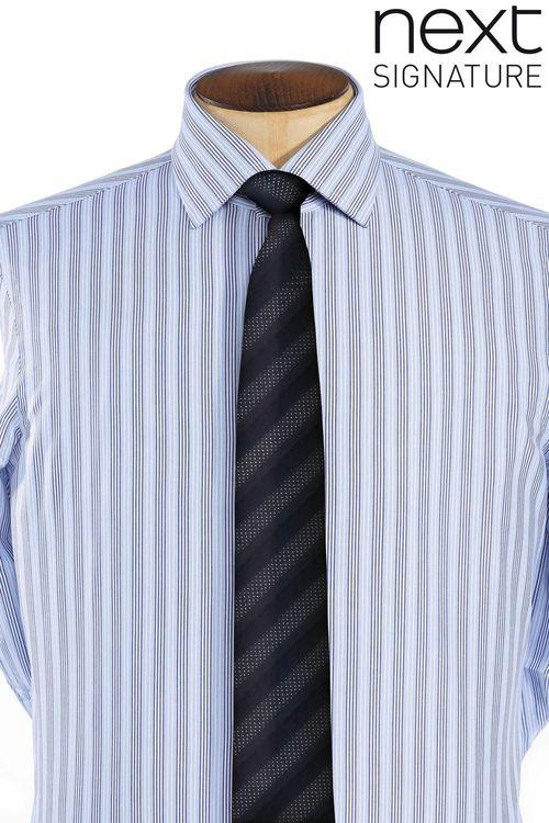 Next Signature Multi Striped Shirt