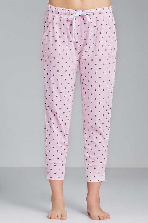 Mia Lucce Cotton Knit PJ Pants