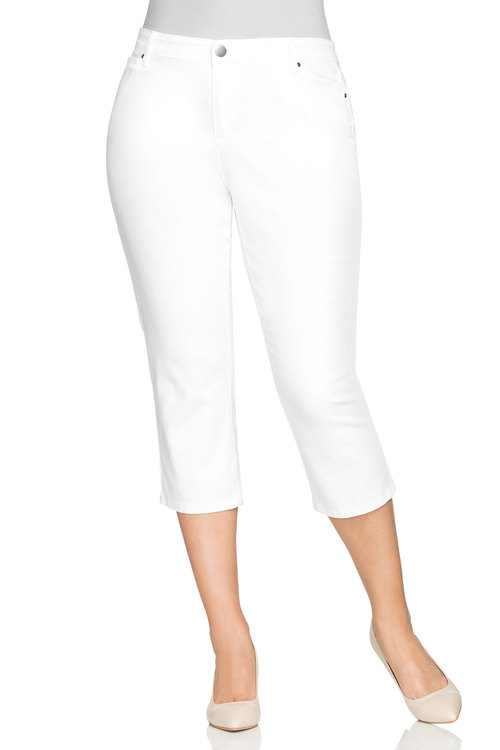 Plus Size - Sara Cropped Jean