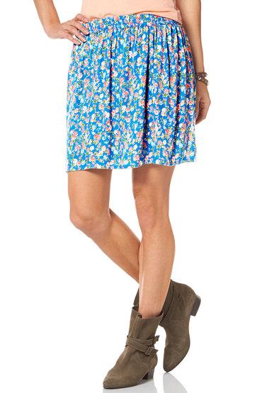 Urban Floral Skirt