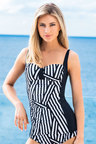 Quayside Tab Front Tankini Top